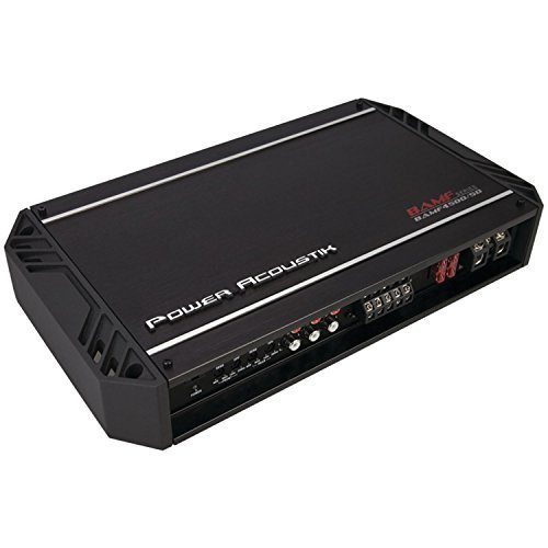 Power Acoustik BAMF4500/5D BAMF Series Class D 4500-Watt 5-Channel...