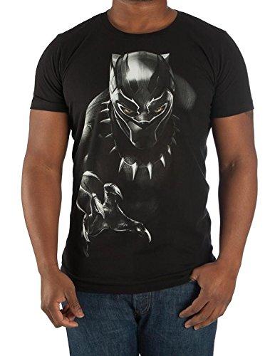 Marvel-Black-Panther-Mens-Black-T-Shirt