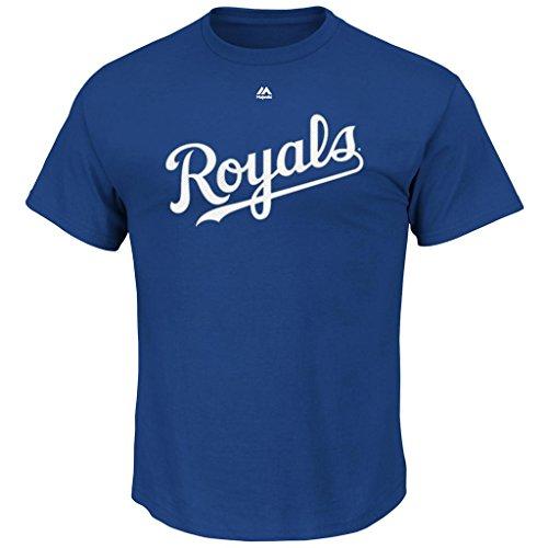 Lorenzo Cain Kansas City Royals #6 Men's Name & Number Player T-shirt (Xlarge)