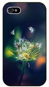 Case For Iphone 5/5S Cover Dandelion - black plastic case / Nature, Animals, Places Series, flower, floral