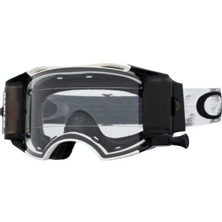 Oakley Airbrake MX Goggles with Race Ready Roll-Off System