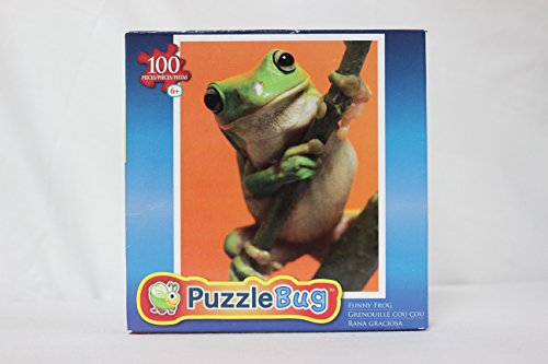 Puzzle Bug 100 Piece Puzzle of a Funny Frog