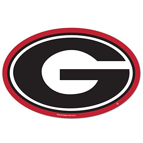 NCAA Georgia Bulldogs Logo on the GoGo Decals, Team Color...