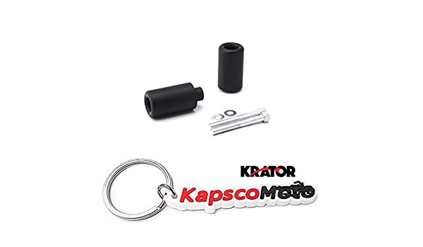 Kapsco Moto No Cut Frame Sliders Motorcycle Fairing Protectors For 2007 Suzuki GSXR 750