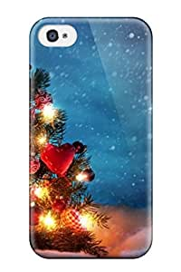 Nicholas D. Meriwether's Shop Fashion Protective Attractive Christmas Tree Art Case Cover For Iphone 4/4s 2667738K79931272