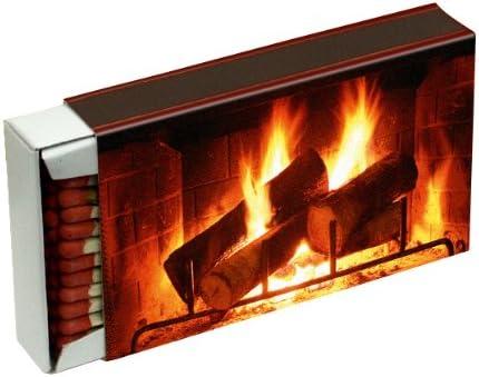 48 cajas a cerillas{50} para barbacoas, chimenea y velas camino 10 cm (caja de cerillas){2400}, diseño de chimenea KM match: Amazon.es: Bricolaje y herramientas