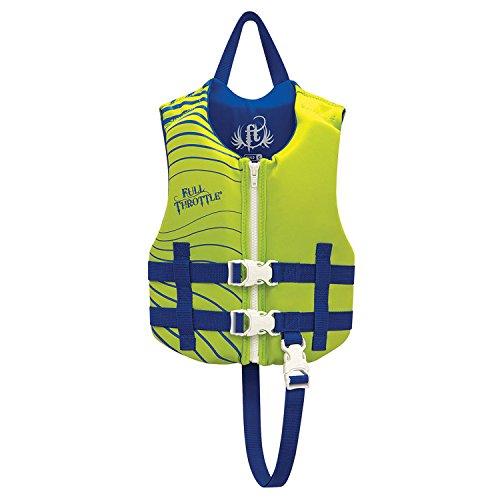 Full Throttle 142100-400-001-16 Children's Rapid-Dry Vest