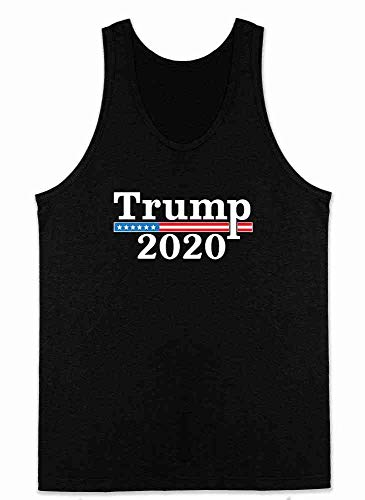(Donald Trump 2020 Campaign Black XL Mens Tank Top)