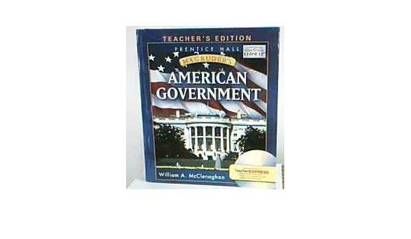 Magruders american government teachers edition mcclenoghan magruders american government teachers edition mcclenoghan 9780133653328 amazon books fandeluxe Image collections