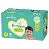 Diapers Size 7, 88 Count - Pampers Swaddlers