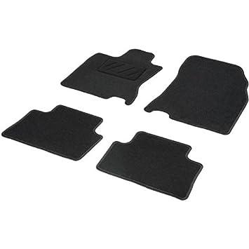 DBS 1765683 Alfombrillas de coche - A medida - Alfombrillas para coche - 4 uds. - Moqueta en negro 600 g/m² - Modelo One