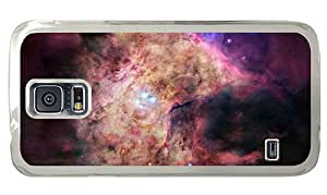 Hipster for cheap Samsung Galaxy S5 Cases space orion nebula PC Transparent for Samsung S5