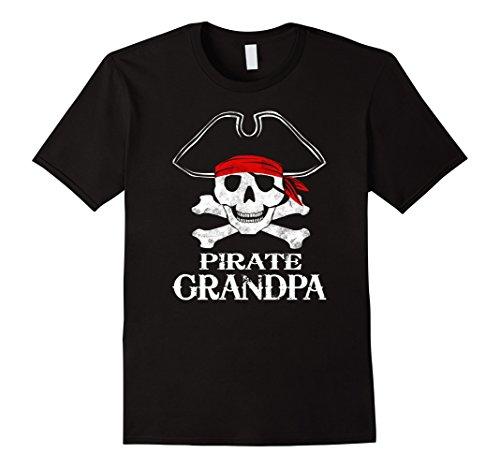 Pirate Grandpa Family Halloween Costume Shirt Group Costume