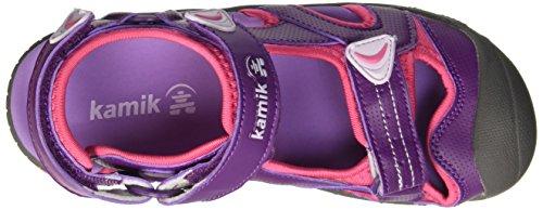 Kamik Beluga - Sandalias Cerradas de Material Sintético Niños^Niñas Morado - Purple (PURPLE/PU3)