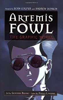 Artemis Fowl: The Graphic Novel 0786848820 Book Cover