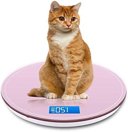 YEMEI Bathroom Scale Round Bathroom USB Smart Weighing Scale Body Weight Measure Digital Floor Scales