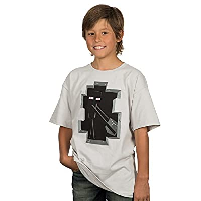 Minecraft Big Boys' Enderman Inside Youth T-shirt