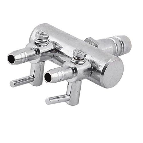 Timiy Stainless Steel Aquarium Fish Tank Air Pump Control Va
