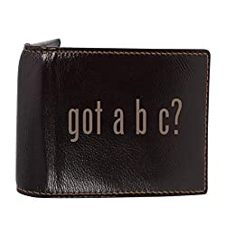 I'd Rather Be In GERMANY - Genuine Engraved Soft Cowhide Bifold Leather Wallet