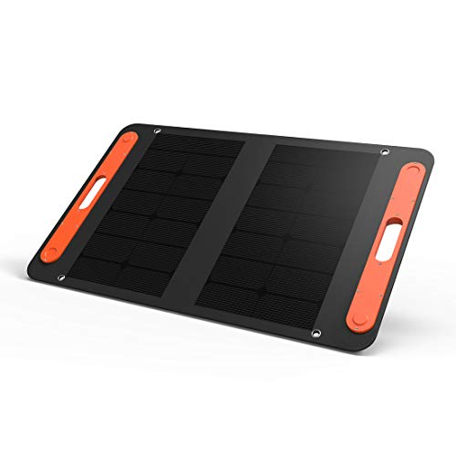 Price comparison product image Portable Solar Panel 50W Jackery Solar Charger for Explorer 240/160, High Efficiency Foldable Solar Powered Charger with additional USB C and USB A Output for Phones Tablet Camera Camping Outdoors