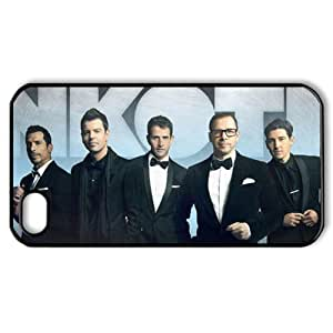 ByHeart New Kids On The Block Hard Back Case Skin for Apple iPhone 4 and 4S - 1 Pack - Retail Packaging - 2653