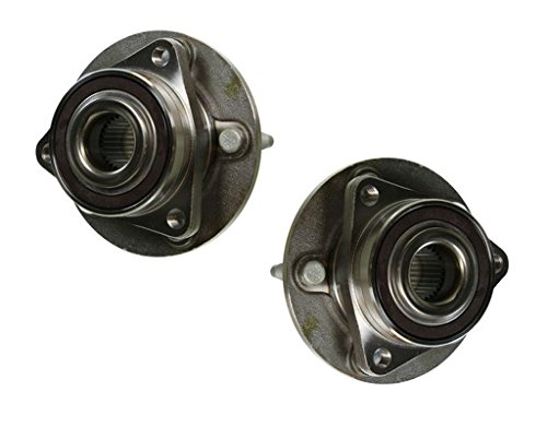 Pair (2) Complete Front Wheel Bearing and Hub Assembly Set for 2012-16 Buick Verano - 11-15 Chevy Volt - 2013-2016 Cadillac ATS(Rear) AWD