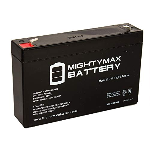 Mighty Max Battery 6V 7Ah SLA Replacement Battery KidTrax EB670_Kidtrax Brand Product by Mighty Max Battery
