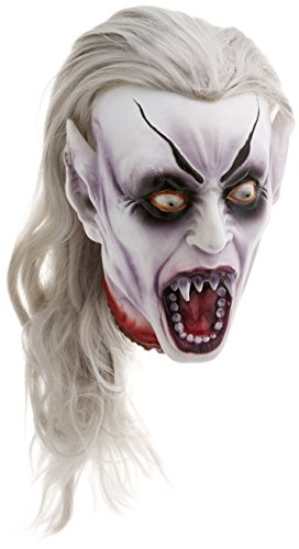 Gothic Vampire Head Prop (Scary Outdoor Halloween Decorations)