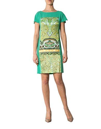 Damen Gemustert Kleid 40 Laurèl Farbe Dress Mikrofaser Grün Größe PxSwSCnZIq