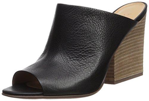 Naturalizer Women's Sloan Slide Sandal, Black, 7 Medium US by Naturalizer