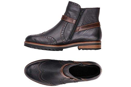 14 Übergrößen Remonte Lake Rot Schuhe Boots in Kastanie Damen r86q8H1