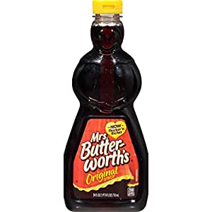 Amazon.com: Mrs. Butterworth's Syrup, Original, 24 Ounce ...