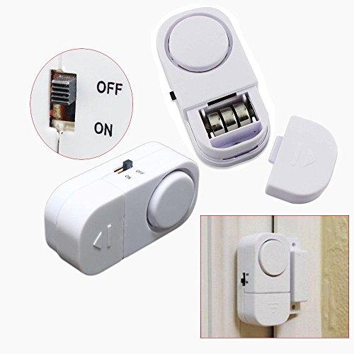 Kuuans Loud Wireless Guard Self-adhesive Door Window Entry Alarm Warning Alert Magnetic Sensor