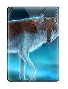 Best New Fashion Premium Tpu Case Cover For Ipad Air - Wolf 1664667K11468978