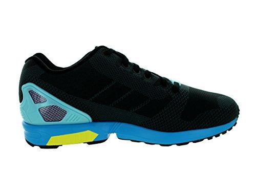 adidas Men's ZX Flux Weave Originals Running Shoe Black/Black/Ltaqua cheap discount authentic sale cheap prices fashionable online best sale for sale f5fbUw