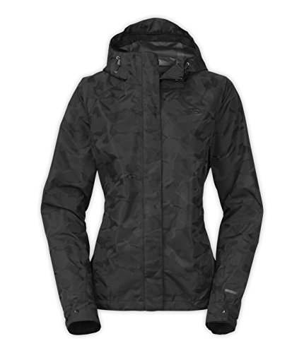 The North Face Northface Womens Venture Camo-Print Jacket (X-Large, TNF Black Camo) (North Venture Jacket The Apparel Womens Face)