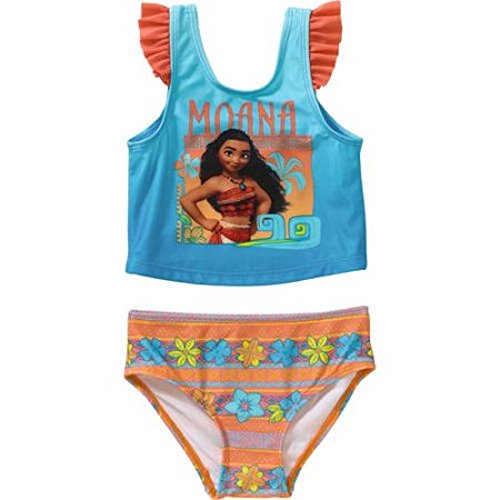 Moana Toddler Girl Tankini 2-piece Swimsuit (3T)