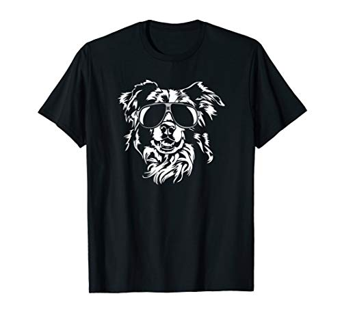 (Funny Border Collie T-Shirt dog hund tee Shirt)