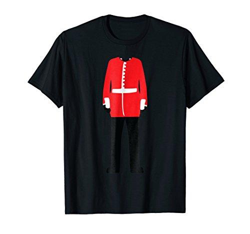 Royal Guard Uniform T-Shirt Cool British Soldier Costume Tee ()