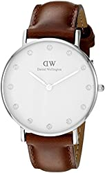 Daniel Wellington Women's 0960DW Classy St Mawes Stainless Steel Watch with Crystal Markers