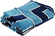 Trident Beach Towels 100% Cotton 2 Piece Bath Towels Extra Large Bathroom Towels Super Soft Easy Care 500 GSM