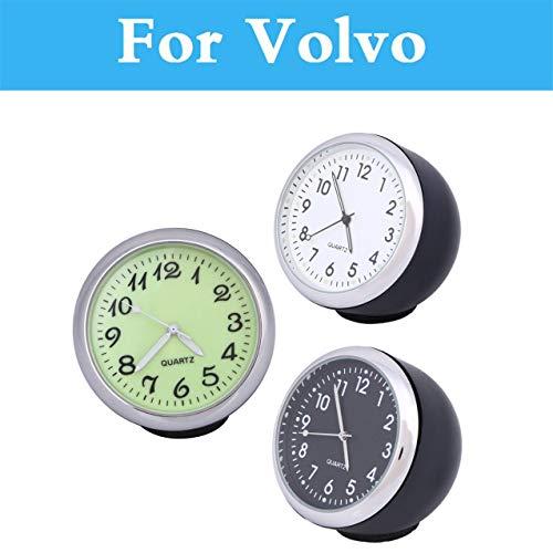 - Fastener & Clip Car Mechanics Quartz Clock Mini Watch Digital Pointer for Volvo V70 Xc60 Xc70 Xc90 C30 C70 S40 S60 S80 V40 V50 V60 Cross Country - (Color Name: Green)