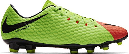 Nike Hypervenom Phelon Iii Fg Electric Green / Black / Hyper Orange / Volt Heren Voetbalschoenen