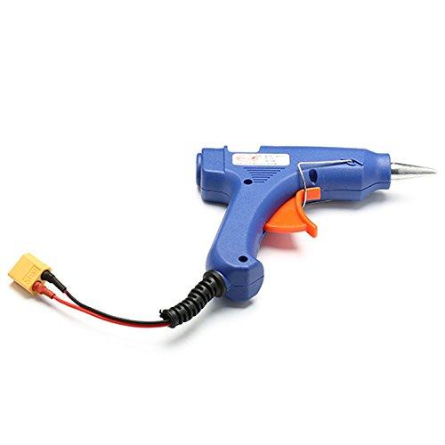 New 3S 12V 30W Hot Melt Glue Gun With Xt60 Plug For Rc Models Glue Gun Emergency Durable 1-