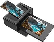 Sharper Image Base de Imagen más nítida e Impresora de Fotos instantánea portátil Bluetooth 4x6 | Calidad Prem