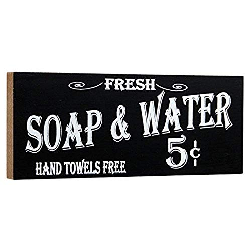 Ohio Wholesale Vintage Bath Advertising Small Crate Sign, 12x6 -