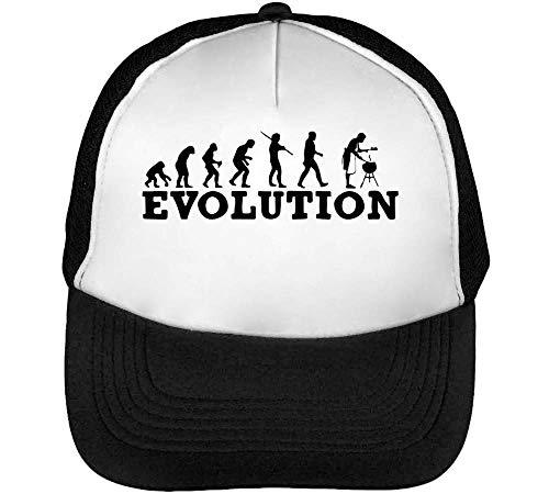 Gorras Snapback Hombre Evolution Negro Grill Blanco Beisbol x74tBHBw5q