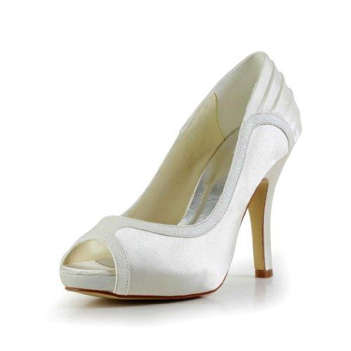 Chaussures Wedding Jia Mariée 37049 Femme Beige Mariage De Escarpins Pour qvTTEO1w