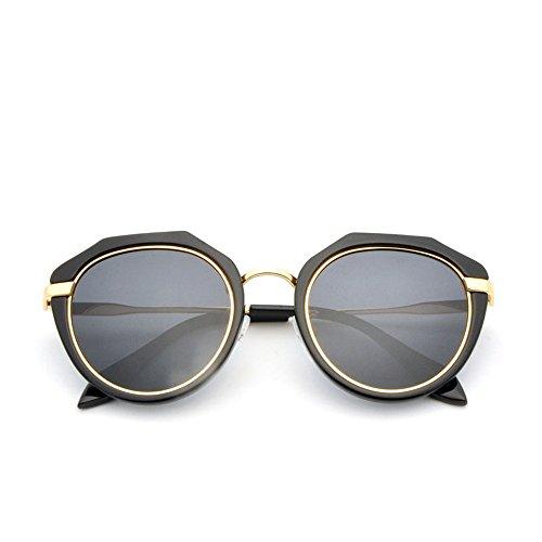soleil aux enfants Lunettes de montures UV Lunettes Lunettes Black lunettes lunettes polarisées soleil de soleil de aux sol de plein plein de conviennent Hommes sports rondes pour résistantes air Les cadre fIUYwU