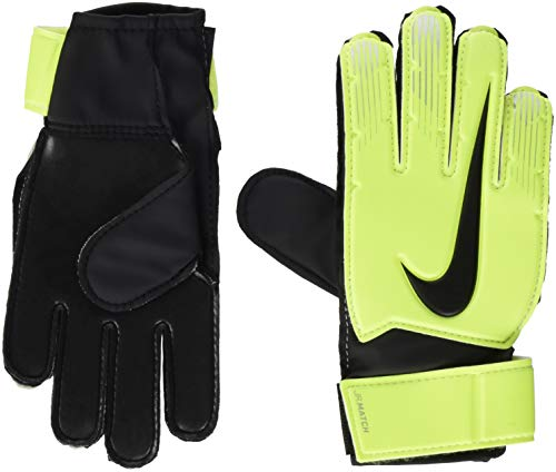 portiere fa18 di Nike NK Unisex Match GK Multicolore Bambini jr Volt Black nbsp;guanti xTOO0qw6f